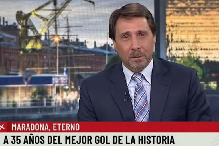 La indignación de Feinmann tras el festejo en Diputados por el gol de Maradona