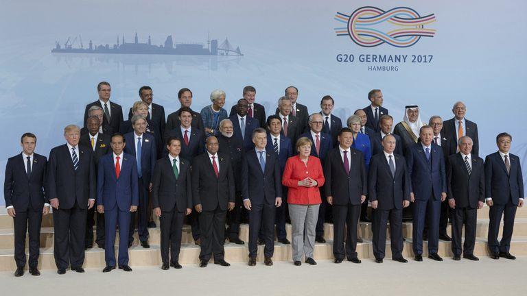 Quién es quién en la foto de familia del G-20