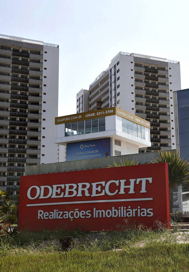 La sede de la empresa en Brasil, hoy ícono de la corrupción