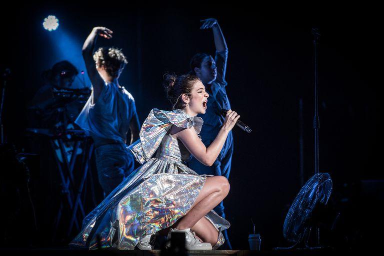 Lorde en el Personal Fest: la princesa encantada del pop derrotó a la lluvia
