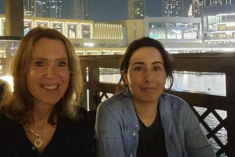 La princesa Latifa fue vista disfrutando de la noche en un reconocido restaurante de Dubái junto a sus amigas