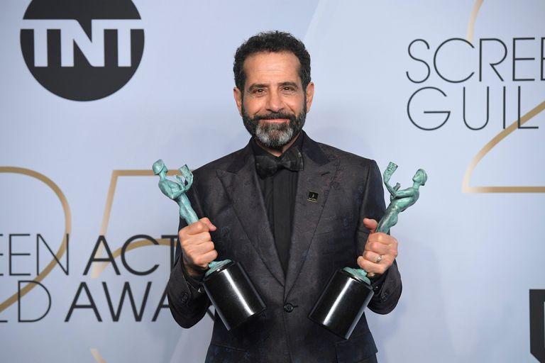 Tony Shalhoub, emocionado con su SAG a mejor actor de comedia