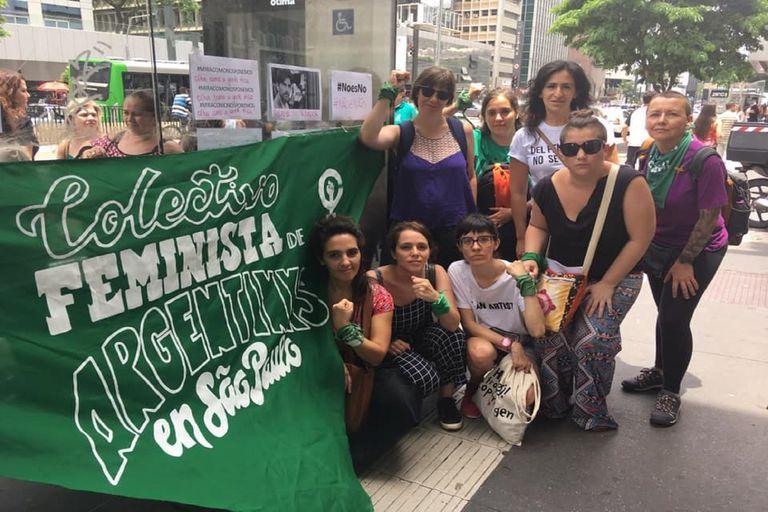 Integrantes del Colectivo Feministas Argentinas