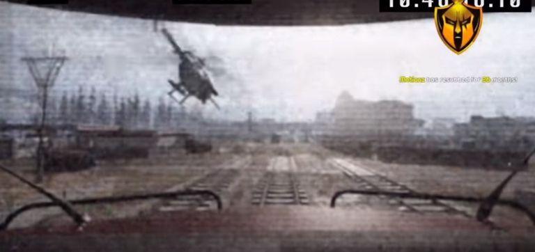En Internet se filtró un video que muestra una vista desde dentro de un tren en una partida de Warzone