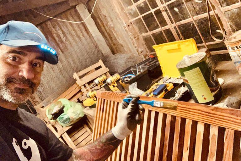 Pablo Trapero optó por la carpintería