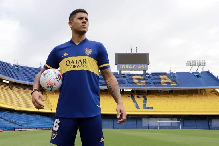 En medio de la falta de juego ofensivo, el punto de apoyo que encontró Boca