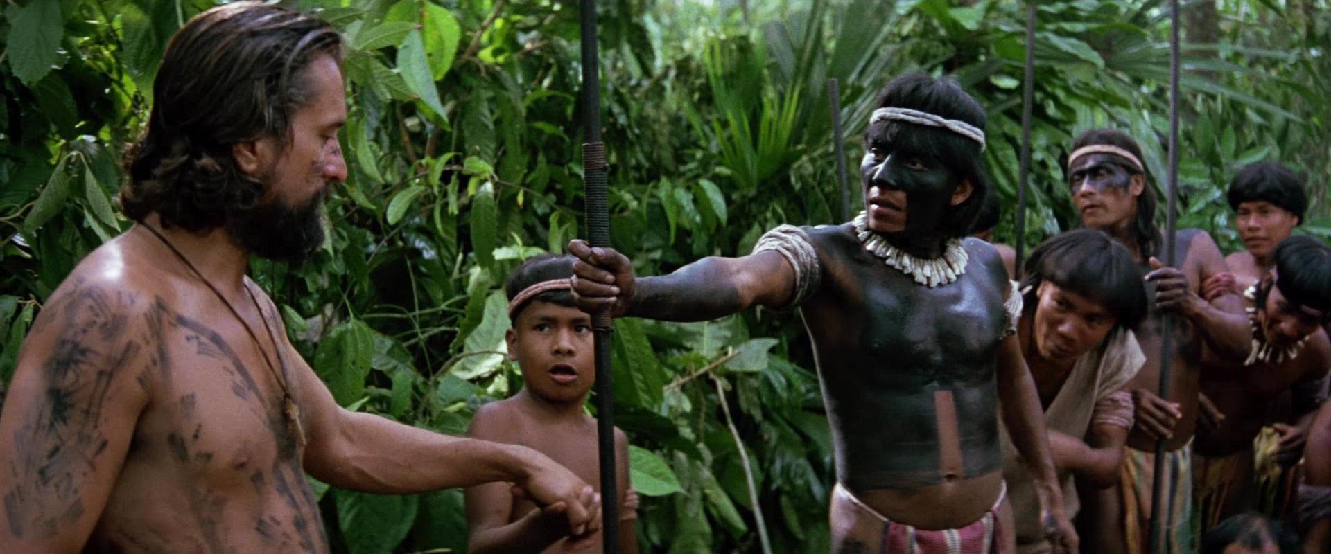 Una escena de La Misión con la selva misionera como escenario de privilegio.