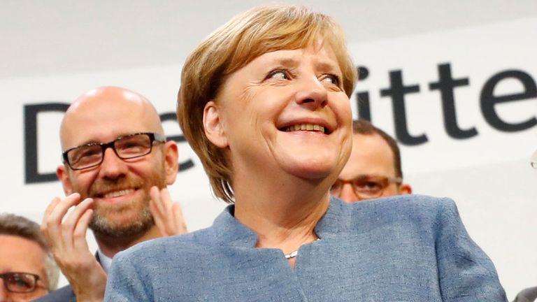 Merkel se aseguró otro mandato