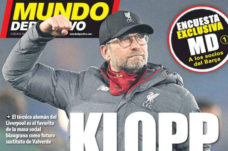 Presión en Barcelona. Klopp, el preferido: ya buscan sucesor para Valverde