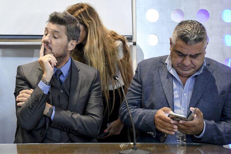 Tapia y Tinelli, presidentes de la AFA y de la Liga Profesional
