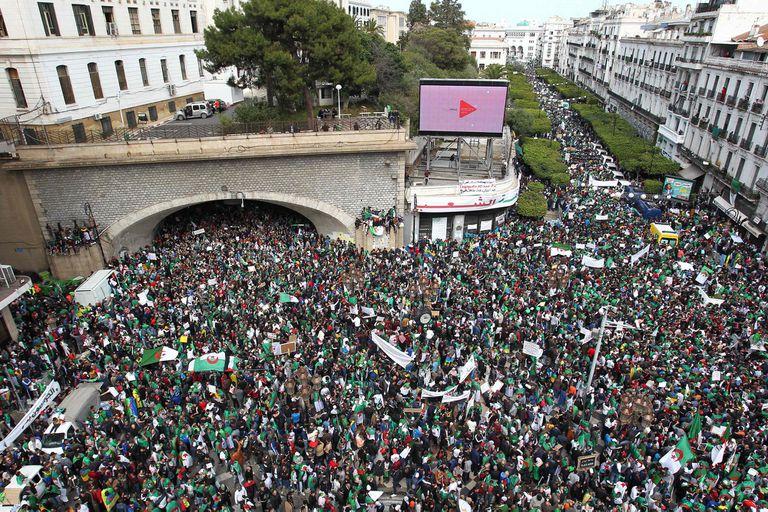 Las protestas se extendieron por toda la geografía del país y todas las clases sociales
