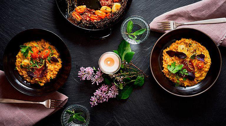 El risotto de cebada perlada es una de las tantas opciones de llevar el cereal al plato