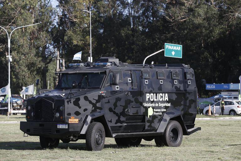 Un vehículo estrenado en el G-20, destinado en Pinamar