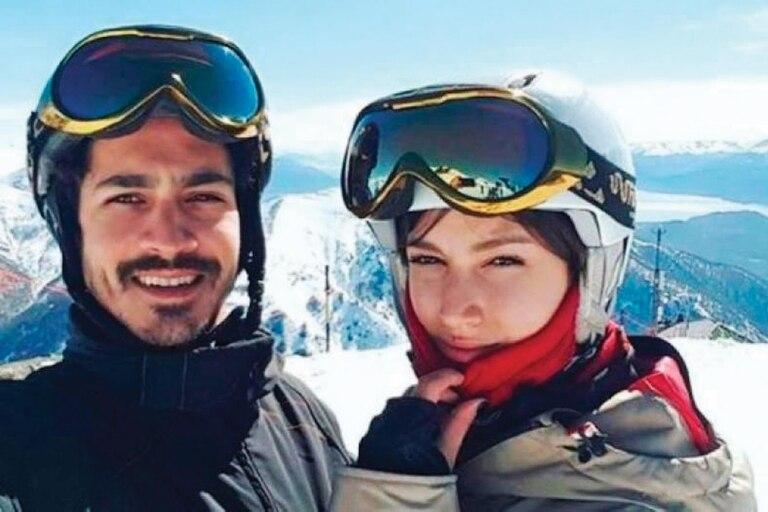 Cuando ella viene de visita a Argentina en invierno, suelen esquiar en Bariloche en familia.