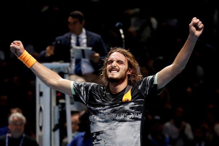 El Masters. El griego Tsitsipas venció a Thiem y se coronó campeón en Londres