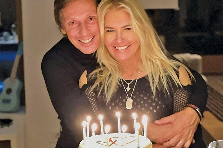 Valeria Mazza. Las fotos de su cumpleaños 49 en los alpes italianos
