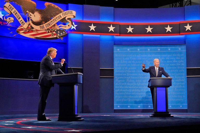 Trump y Biden sostuvieron anoche, en Nashville, el último debate antes de las elecciones del 3 de noviembre