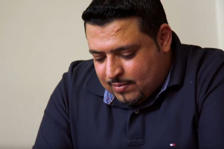 """""""Soy el único que queda"""", afirma Khaled bin Farhan."""