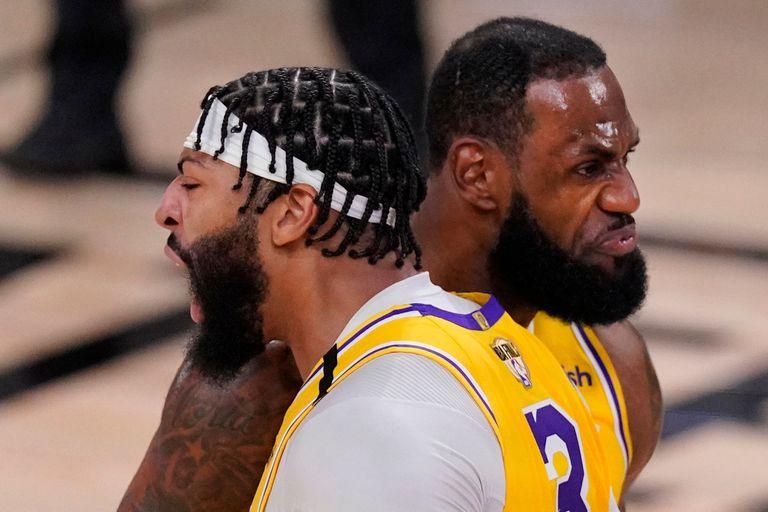 NBA: LeBron-Davis, la pareja que rememora a Kobe-Shaq y promete tomar su legado