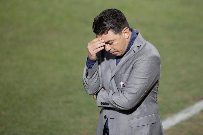 River fue un dolor de cabeza, para Gallardo y para todos: perdió con Godoy Cruz en Mendoza