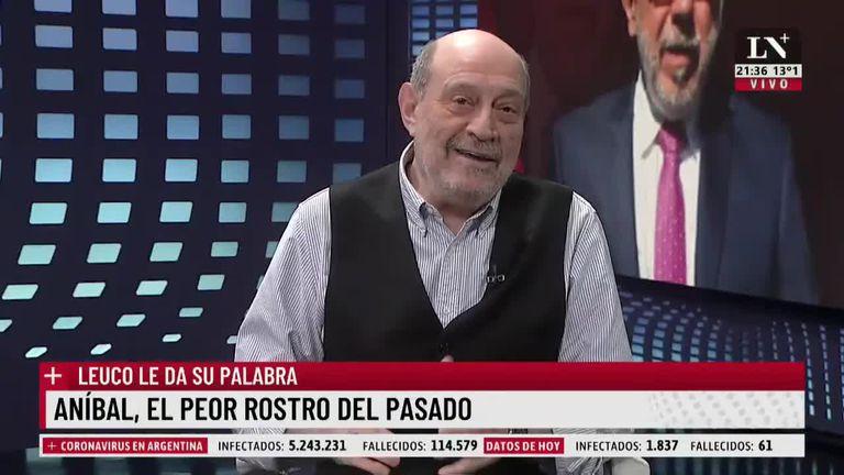 """Alfredo Leuco apuntó contra Aníbal Fernández: """"Es el cristinista con peor imagen"""""""