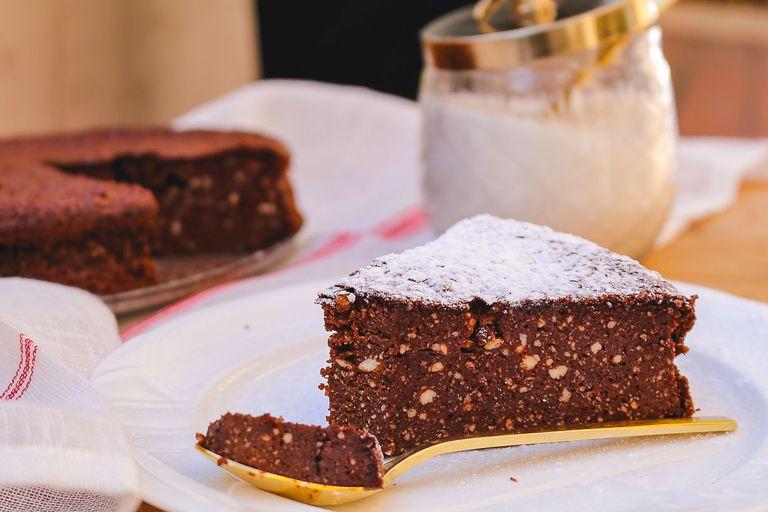 Torta de chocolate y ricota sin TACC