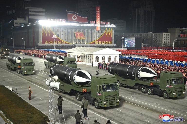 Según especialistas, nunca se había visto este misil, que puede ser lanzado desde submarinos