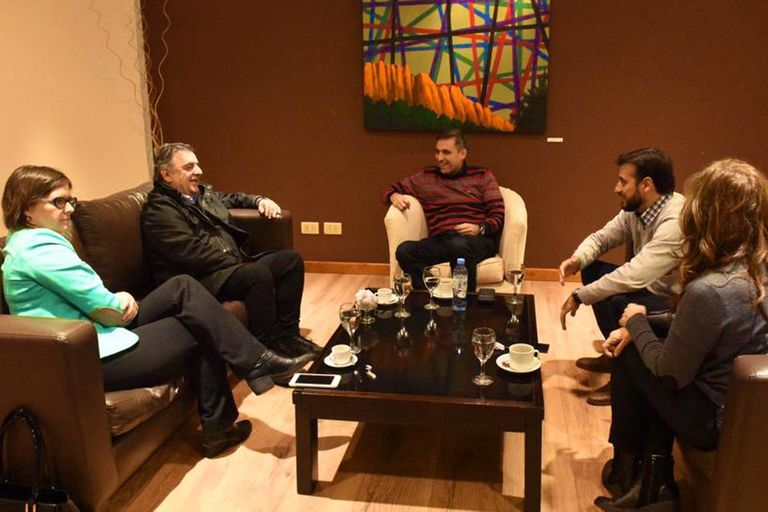 Los excandidatos a gobernador de Córdoba que se dividieron el voto del macrismo se reunieron por primera vez desde principios de año