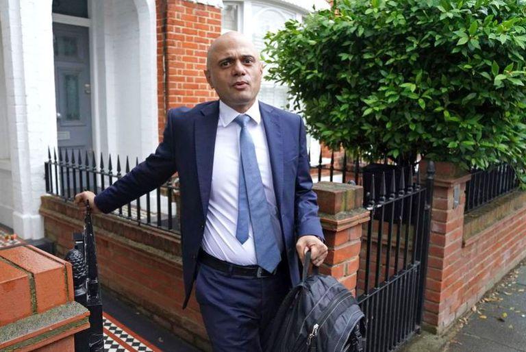 El flamante ministro de salud británico, Sajid Javid