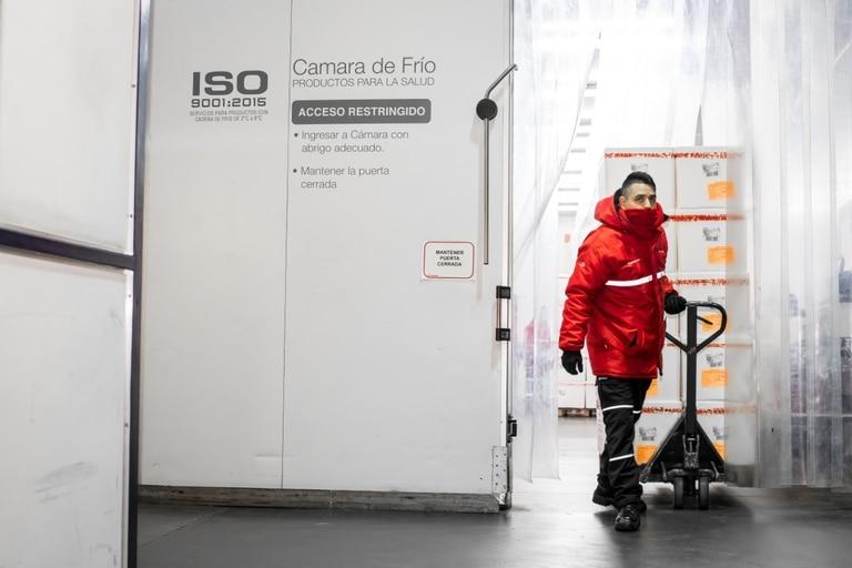 Las cámaras frigoríficas albergan las vacunas a temperaturas de 2 a 8 grados centígrados