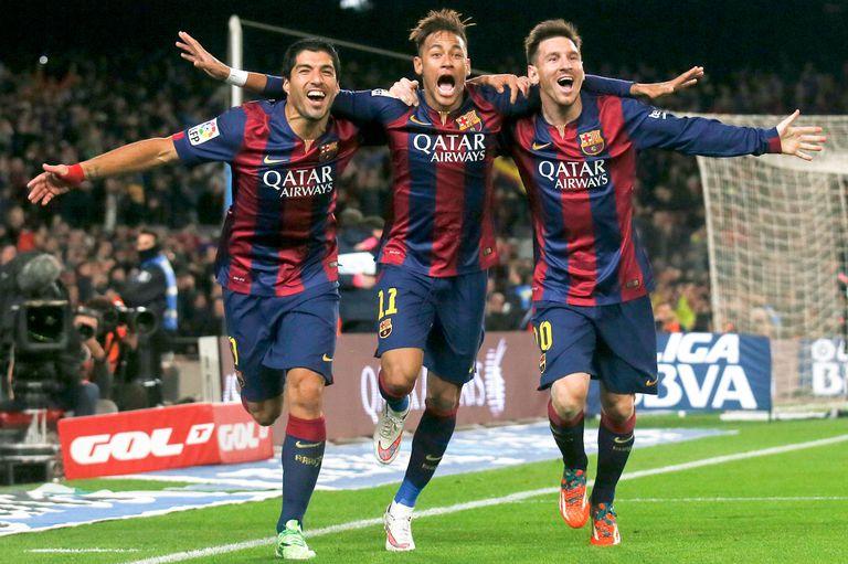 Tiempos pasados: cuando los tres compartían el ataque de Barcelona