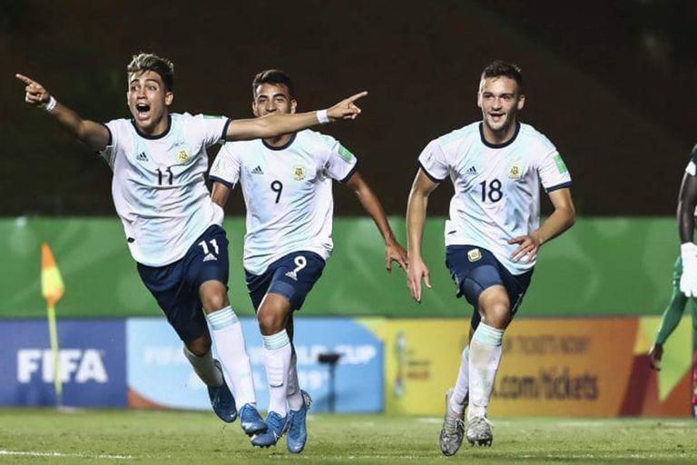 Mundial Sub 17: la Argentina le ganó 3-1 a Camerún y se acerca a los octavos
