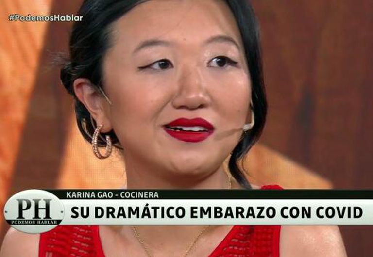 Karina Gao recordó su desgarradora experiencia con el Covid, en el programa de Andy Kusnetzoff.