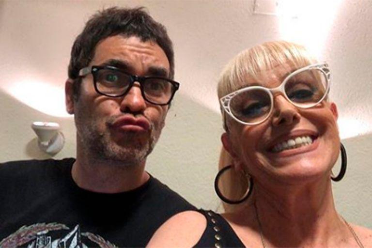 ¿Nuevo amor rockero? Valeria Lynch junto a Mariano Martínez, líder de Attaque 77
