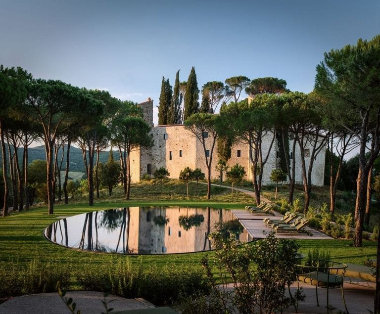 Este castillo de 1000 años se transformó en un hotel de lujo