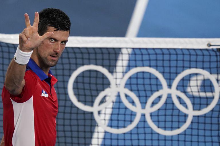 Nole está en semifinales del tenis olímpico