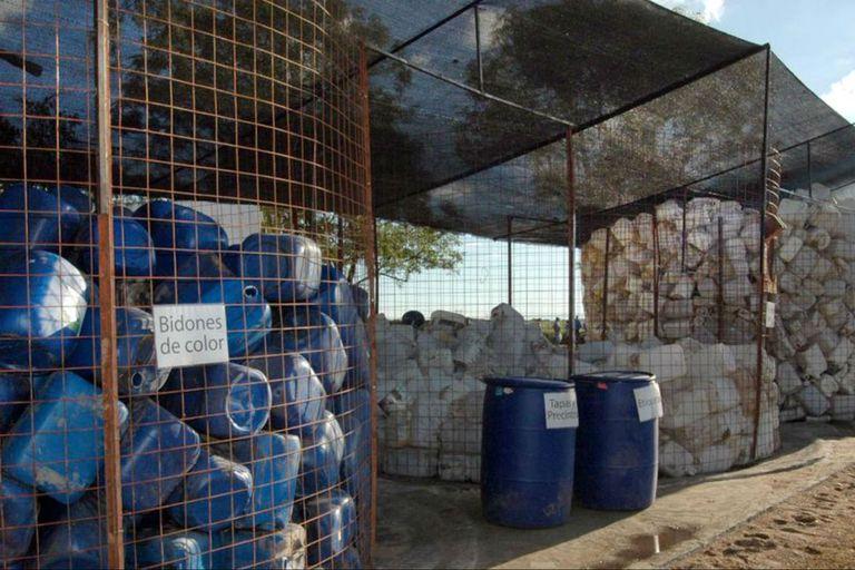 Se destinan 17 millones de envases para el uso de fitosanitarios
