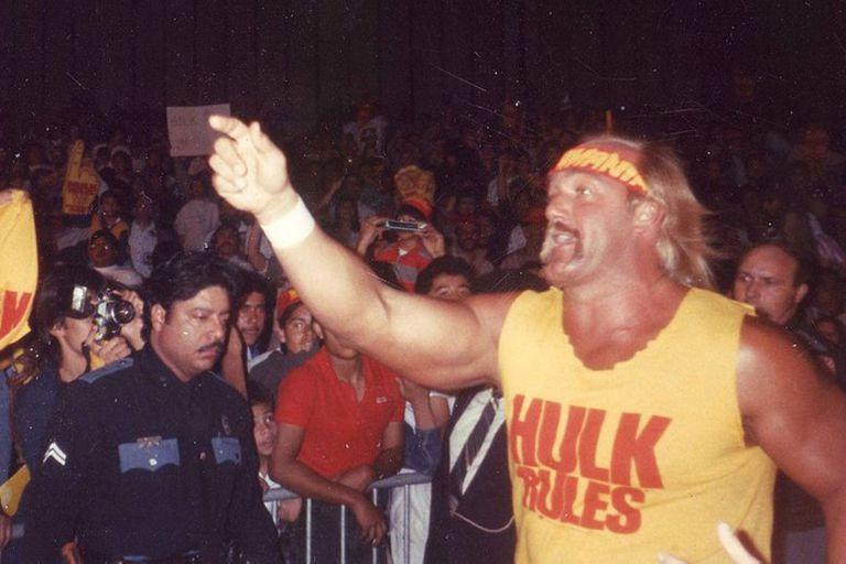 Hulk Hogan es un legendario luchador de la WWE