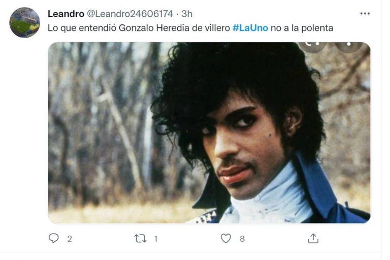 Gonzalo Heredia, uno de los protagonistas de La 1-5/18 tampoco quedó a salvo de los memes sobre la serie