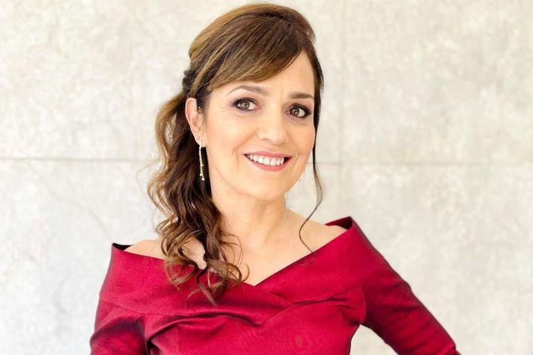 Andrea Pietra, de una fábrica de zapatos a su primer trabajo en televisión como un muñeco