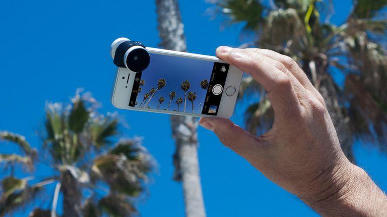 Un Olloclip para el iPhone SE
