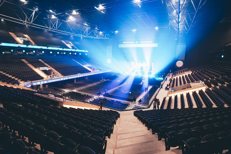 Movistar Arena presentó su sonido inmersivo; la vuelta del público en 2021