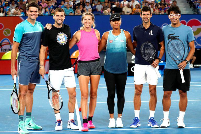 El Abierto de Australia levanta el telón con Djokovic como gran favorito