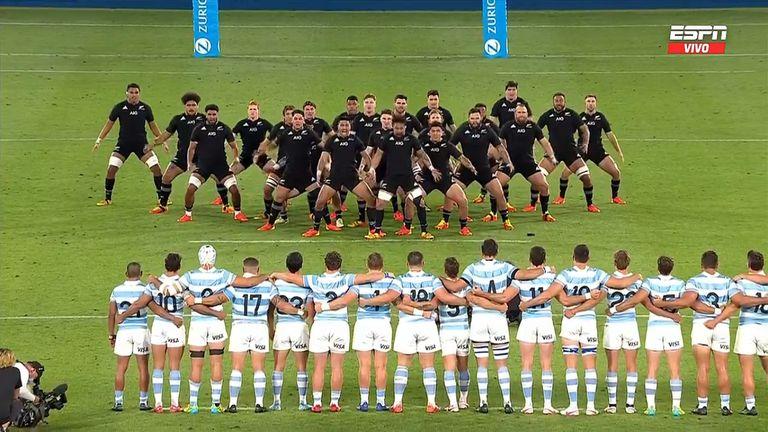 Rugby , Los pumas Vs All Blacks