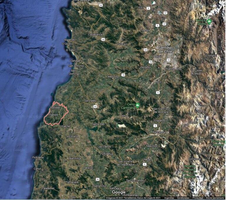 Alerta en Chile: un enjambre sísmico afecta al centro del país