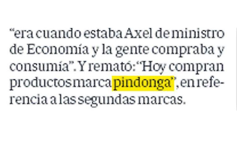 Pindonga, Cuchuflito y Cadorna. Cuando la lengua informal se mete en la campaña
