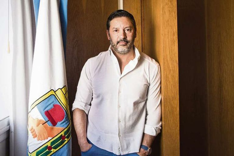 Gustavo Menéndez, intendente de Merlo