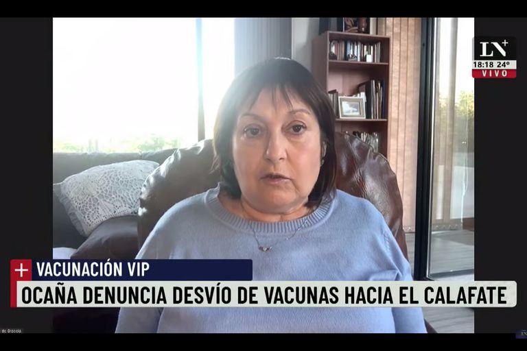 Vacunación vip: Graciela Ocaña  pide investigar un desvío de vacunas en El Calafate