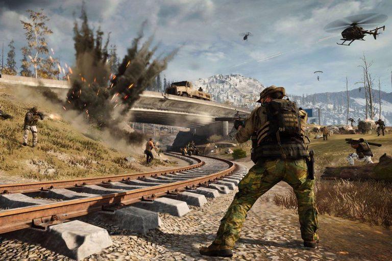 En las últimas actualizaciones de Warzone se pudo notar que varias construcciones como las vías de tren que recorren circularmente todo el mapa