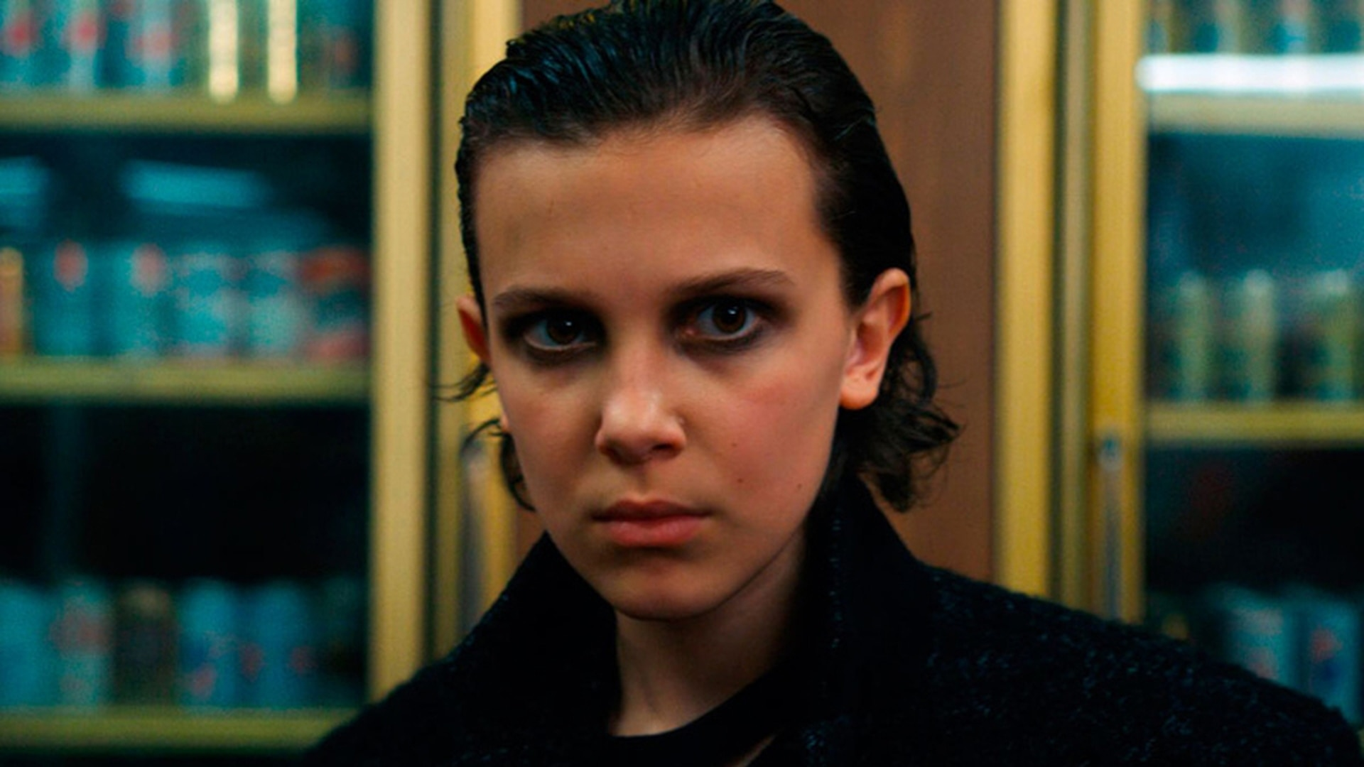 Millie Bobby Brown como Eleven, en Stranger Things